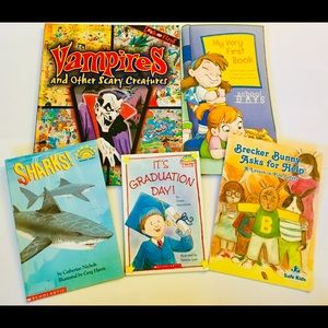 Other - Mixed Collection of 5 Beginner Books for Young Kid